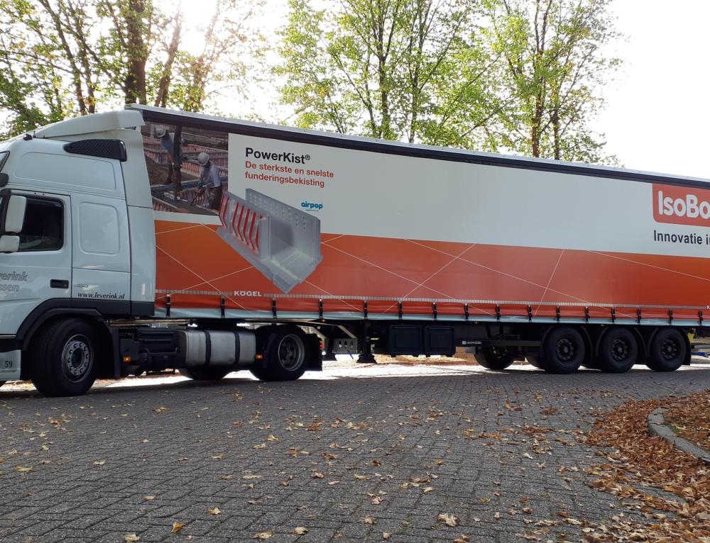 4 Kögel trailers firma Leverink Transport
