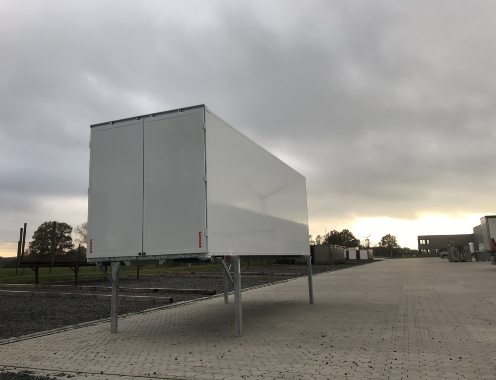 Nieuwe Wecon BDF sandwich koffer voor Faes Group